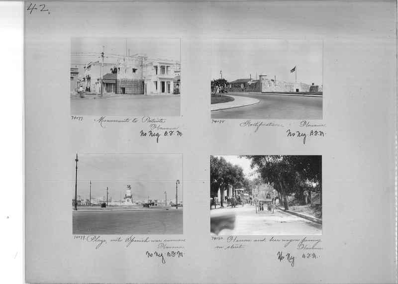 Mission Photograph Album - Panama #03 page 0042