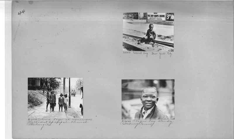 Mission Photograph Album - Negro #2 page 0044