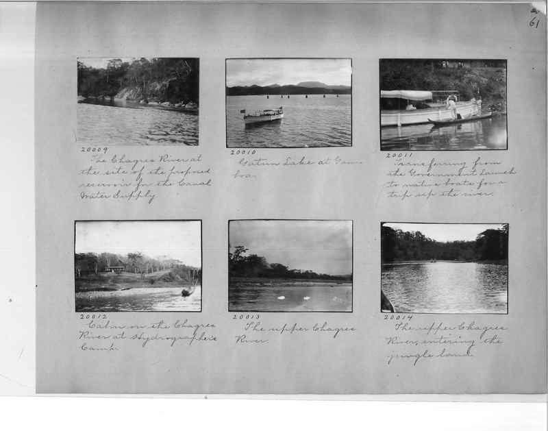 Mission Photograph Album - Panama #1 page  0061