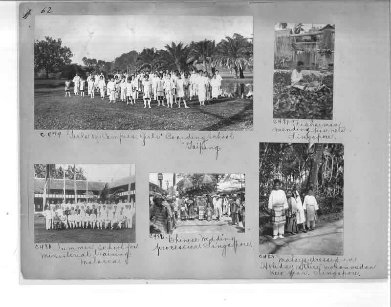 Mission Photograph Album - Malaysia #7 page 0062