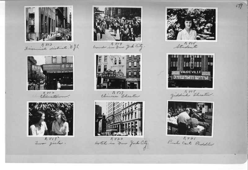 Mission Photograph Album - Cities #18 page 0179