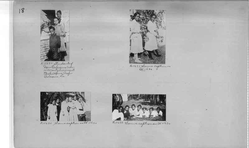 Mission Photograph Album - Negro #2 page 0018