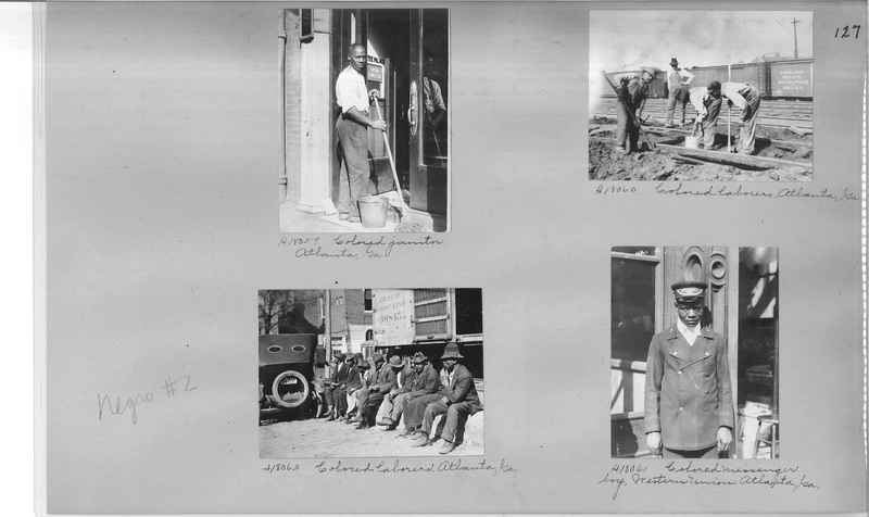 Mission Photograph Album - Negro #2 page 0127