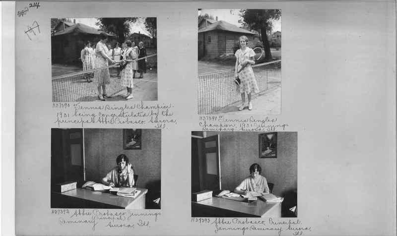 Mission Photograph Album - Education #2 page 0214
