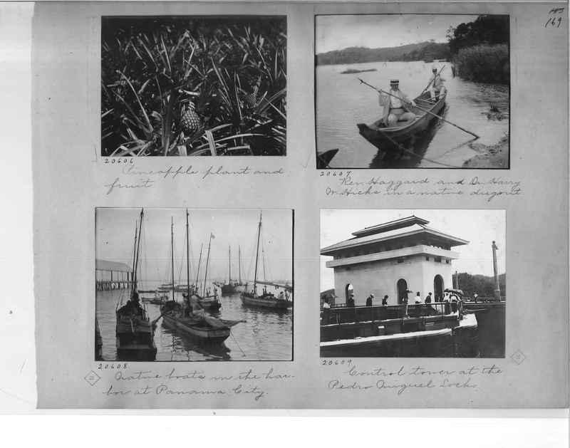 Mission Photograph Album - Panama #1 page  0169