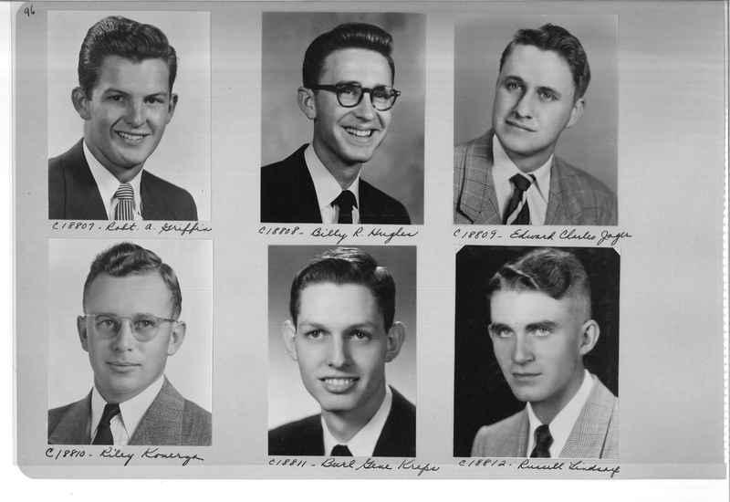 Mission Photograph Album - Portraits #08 Page 0096
