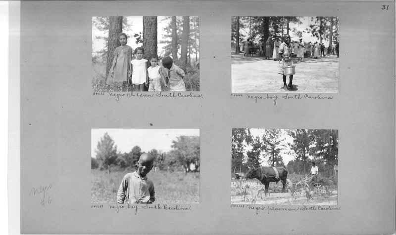 Mission Photograph Album - Negro #6 page 0031