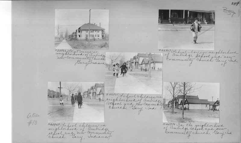 Mission Photograph Album - Cities #10 page 0249
