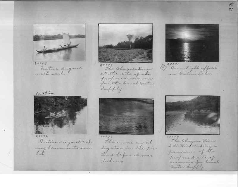 Mission Photograph Album - Panama #1 page  0071