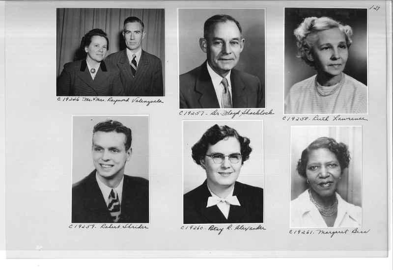 Mission Photograph Album - Portraits #08 Page 0127