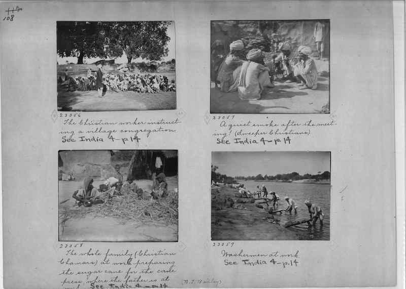 Mission Photograph Album - India - O.P. #01 Page 0108