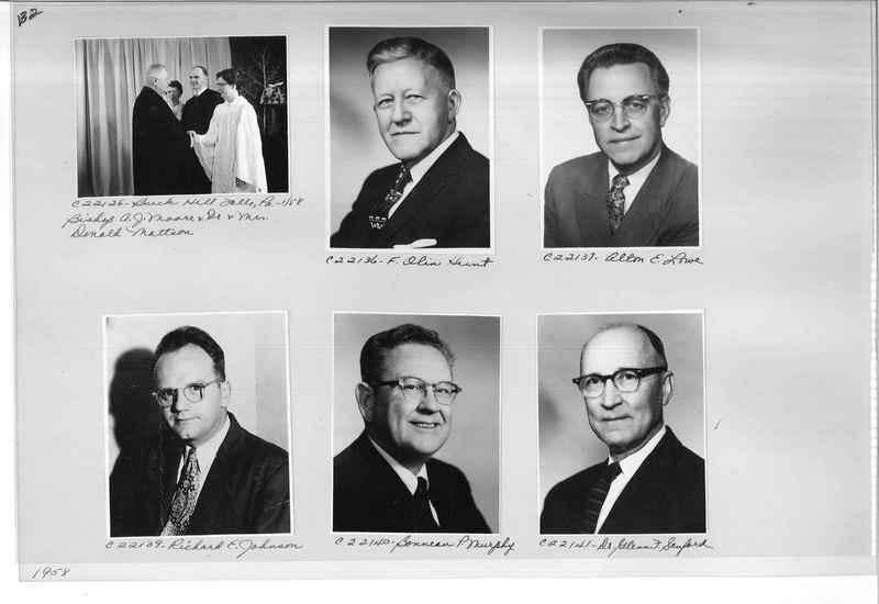 Mission Photograph Album - Portraits #10 Page 0132