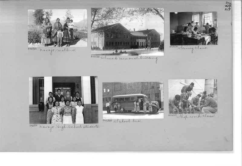 Mission Photograph Album - Indians #2 page_0219