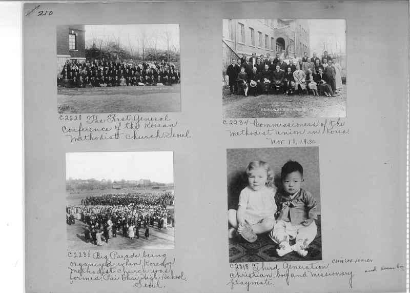 Mission Photograph Album - Korea #5 page 0210