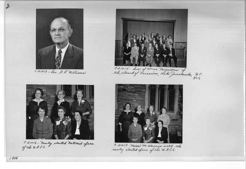 Mission Photograph Album - Portraits #10 Page 0002