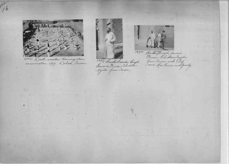 Mission Photograph Album - India #08 Page 0016