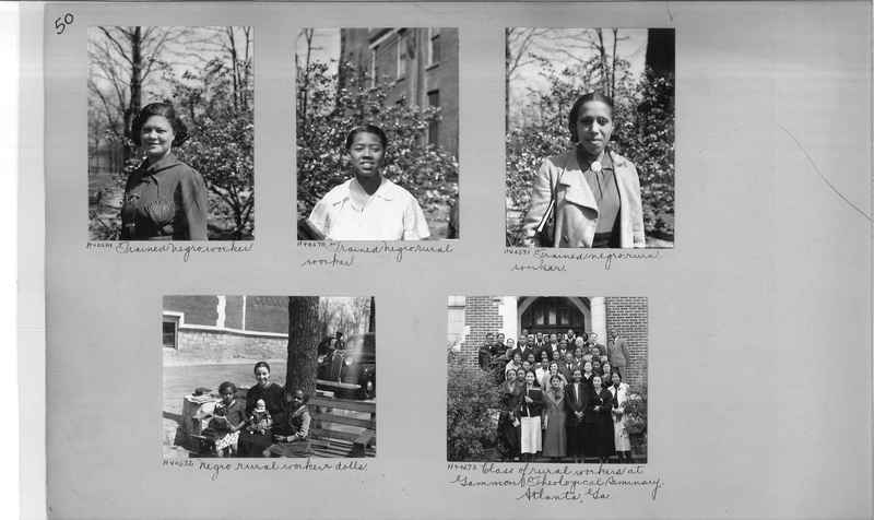 Mission Photograph Album - Negro #6 page 0050