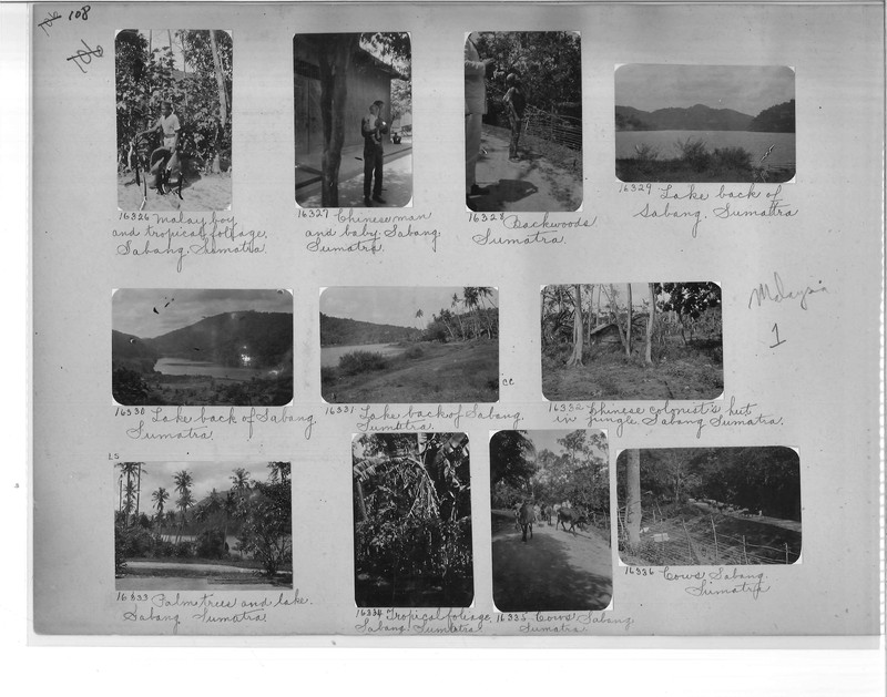 Mission Photograph Album - Malaysia #1 page 0108