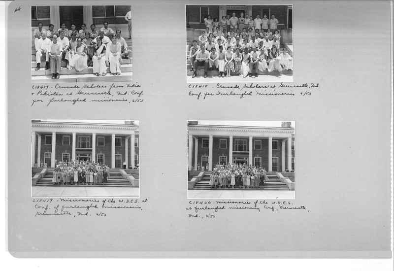 Mission Photograph Album - Portraits #08 Page 0044