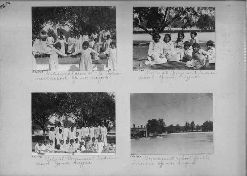 Mission Photograph Album - Indians #2 page_0074
