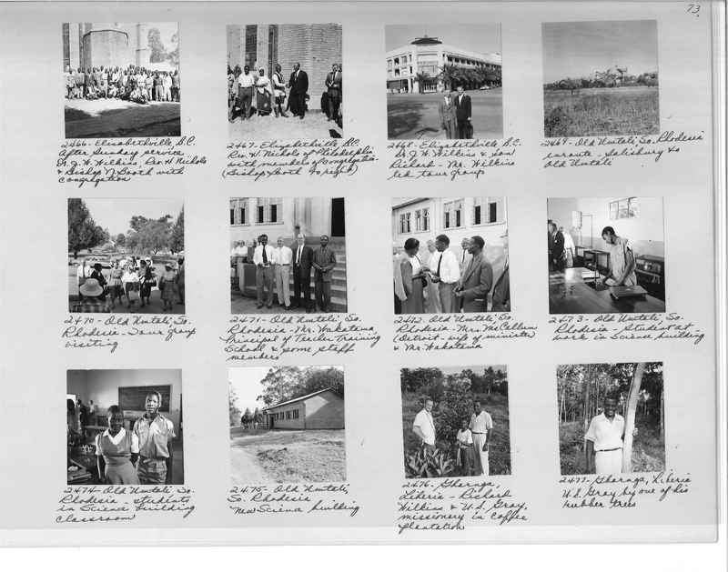 Mission Photograph Album - Africa #17 page 0073