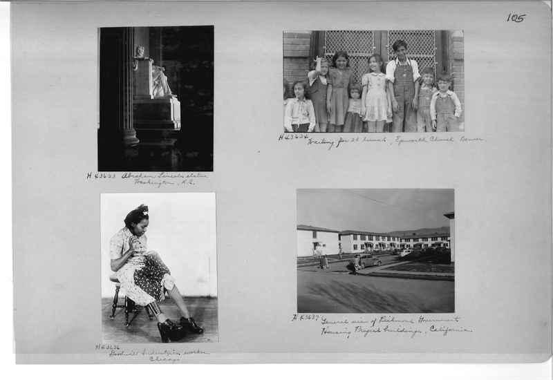 Mission Photograph Album - Cities #18 page 0105