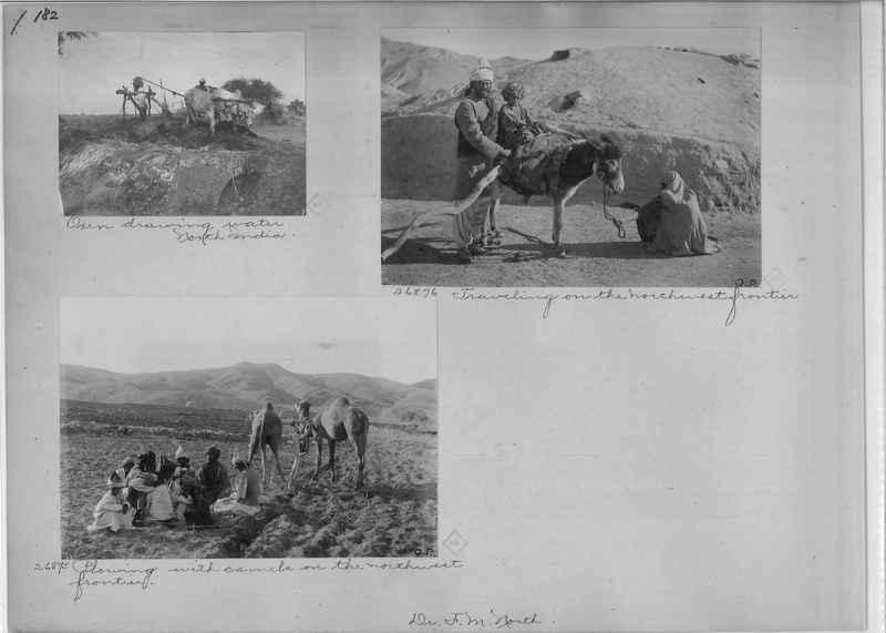 Mission Photograph Album - India - O.P. #01 Page 0182