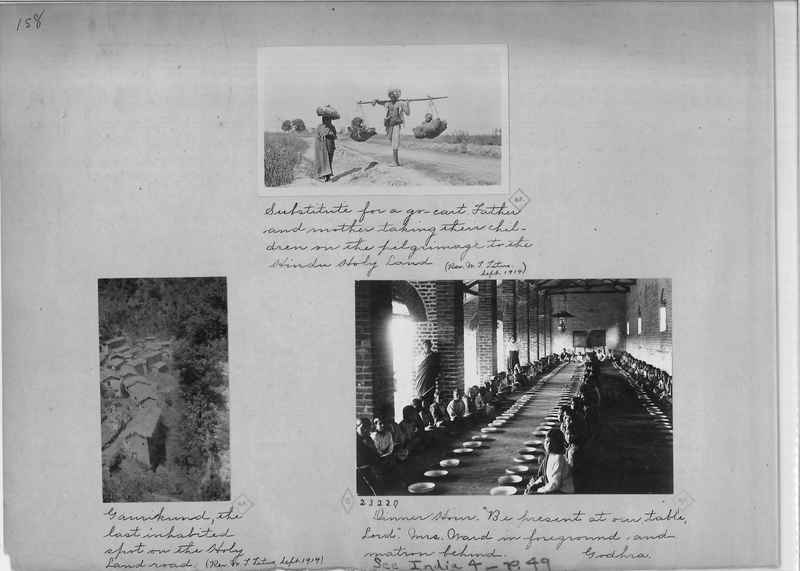 Mission Photograph Album - India - O.P. #01 Page 0158