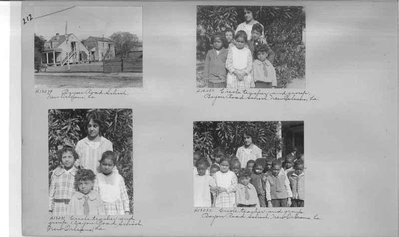 Mission Photograph Album - Negro #2 page 0212