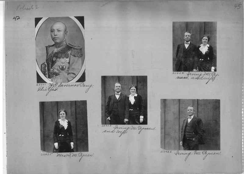 Mission Photograph Album - Portraits #2 page 0042