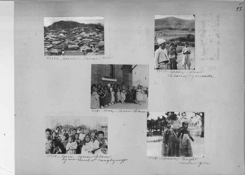 Mission Photograph Album - Korea #5 page 0093