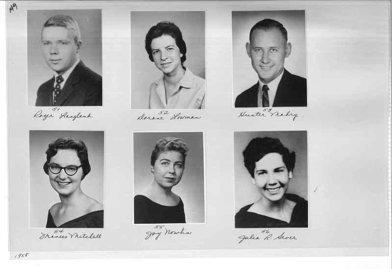 Mission Photograph Album - Portraits #10 Page 0144