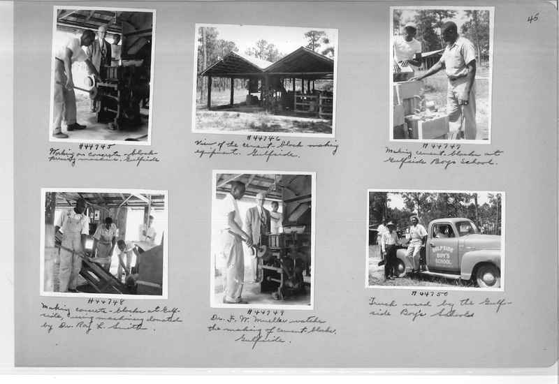 Mission Photograph Album - Negro #7 page 0045