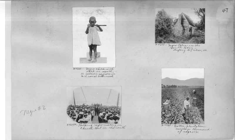 Mission Photograph Album - Negro #2 page 0047