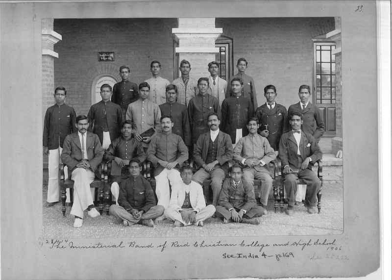 Mission Photograph Album - India - O.P. #01 Page 0023