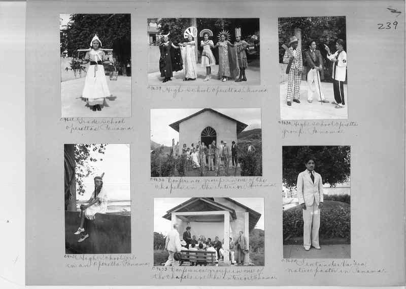 Mission Photograph Album - Panama #04 page 0239