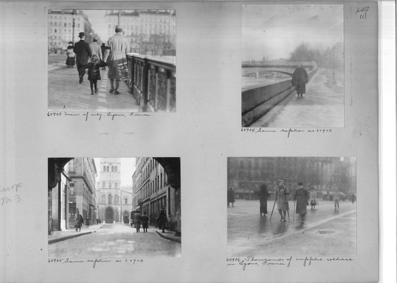 Mission Photograph Album - Europe #03 Page 0111