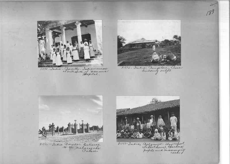 Mission Photograph Album - India #09 Page 0183