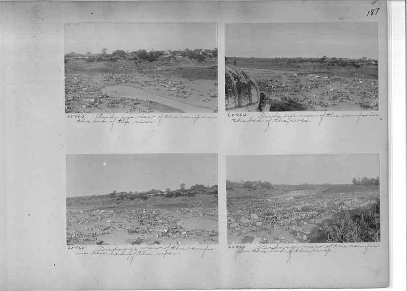 Mission Photograph Album - India #08 Page 0187