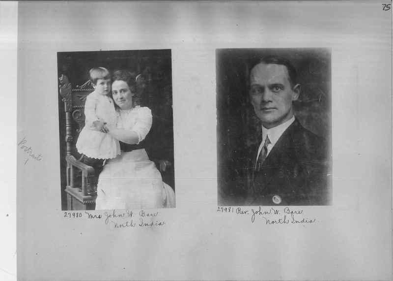 Mission Photograph Album - Portraits #1 page 0075