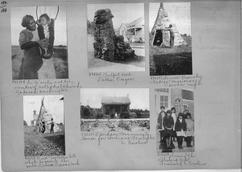 Mission Photograph Album - Indians #2 page_0184