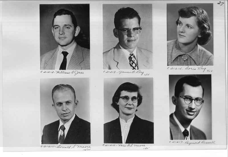 Mission Photograph Album - Portraits #10 Page 0027