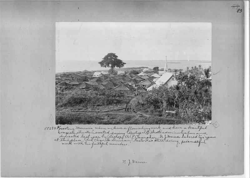 Mission Photograph Album - Africa - Madeira O.P. #2 page 0083