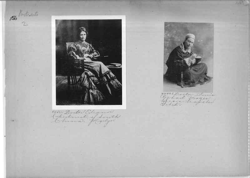 Mission Photograph Album - Portraits #2 page 0156