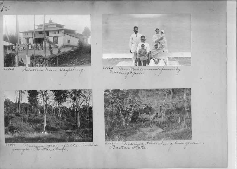 Mission Photograph Album - India #08 Page 0062