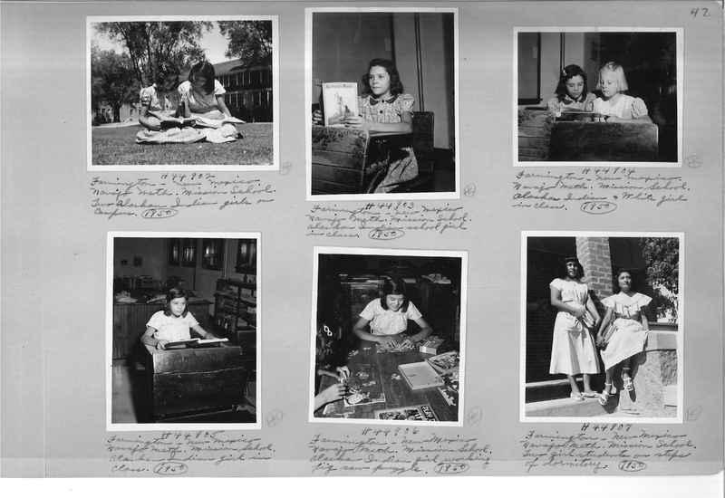 Mission Photograph Albums - Indians #3 Page_0047