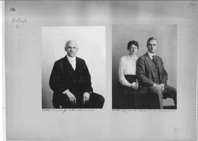 Mission Photograph Album - Portraits #2 page 0196