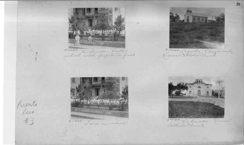 Mission Photograph Album - Puerto Rico #3 page 0033