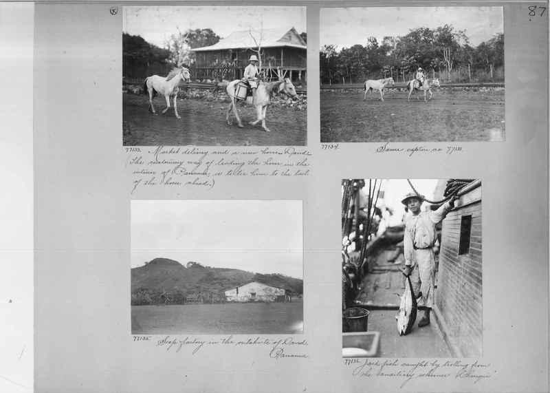 Mission Photograph Album - Panama #03 page 0087
