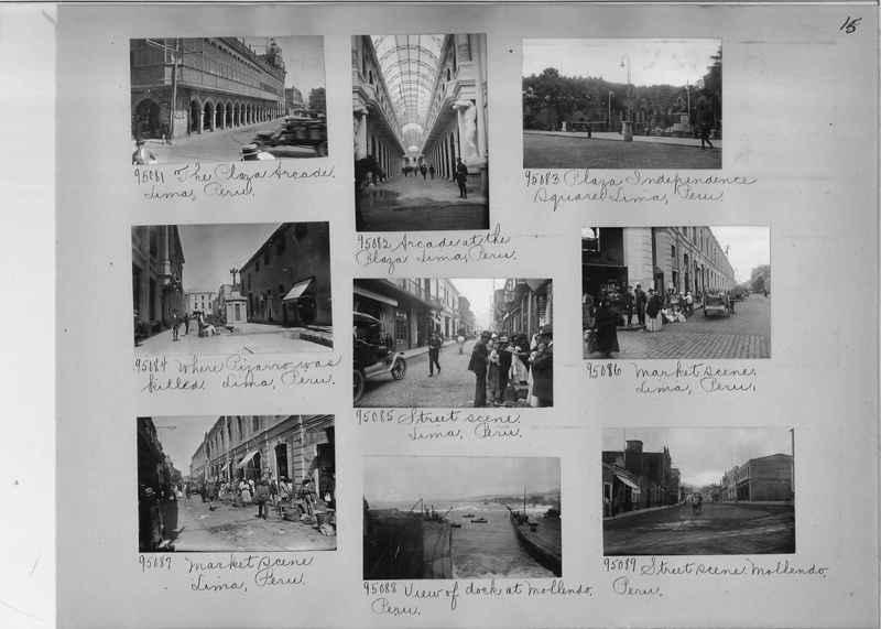 Misson Photograph Album - South America #8 page 0015